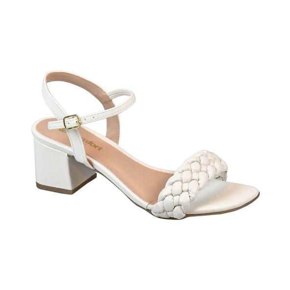 Sandalia-com-Tiras-Trancadas-Comfort-Tamanho--34---Cor--PORCELANA-0