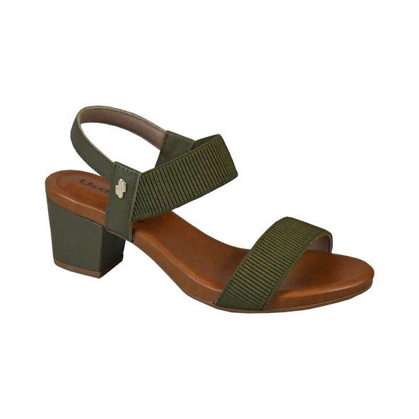 Sandalia-em-Couro-com-Tiras-Elastica-Comfort-Tamanho--33---Cor--MILITAR-0