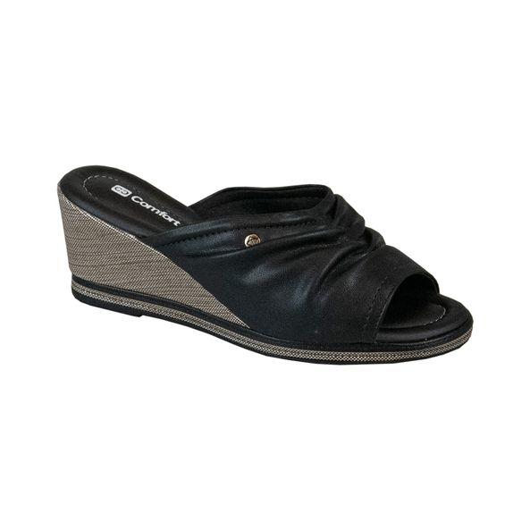Tamanco-Anabela-Enrugado-Comfort-Tamanho--34---Cor--PRETO-0