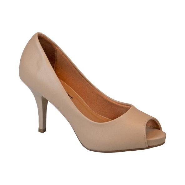Sapato-Elegante-Peep-Toe-Comfort-Tamanho--35---Cor--BEGE-0