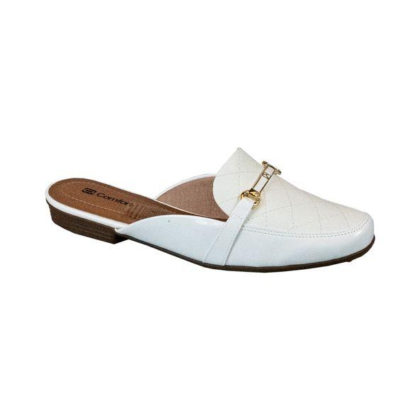 Sapato-Mule-Classico-Comfort-Tamanho--33---Cor--BRANCO-0