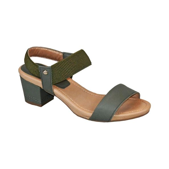 Sandalia-com-Tiras-Elasticas-Comfort-Tamanho--33---Cor--OLIVA-0