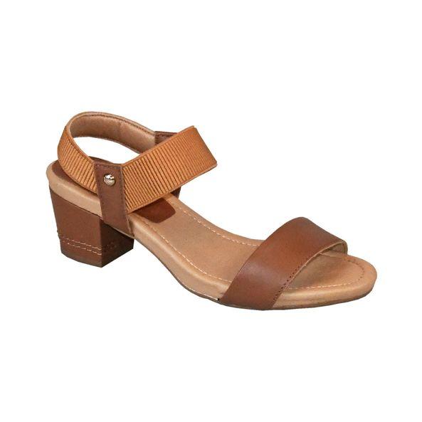 Sandalia-com-Tiras-Elasticas-Comfort-Tamanho--36---Cor--CAMEL-0