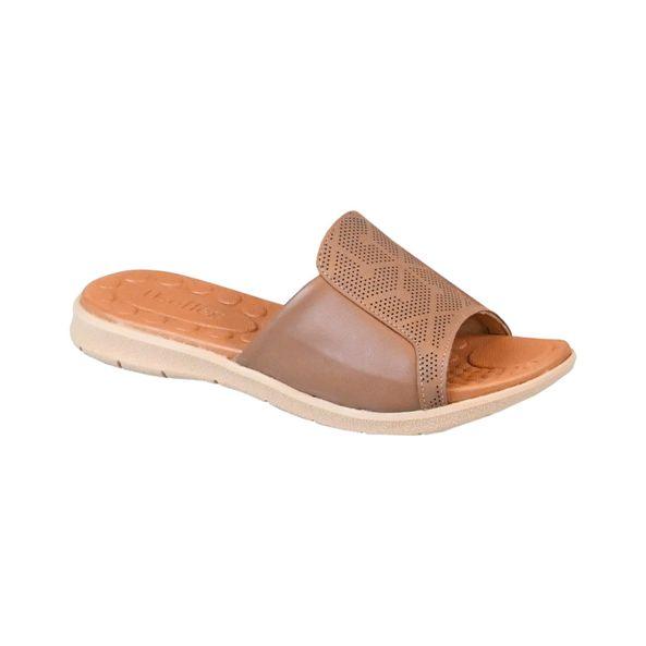 Sandalia-Rasteira-em-Couro-Comfort-Tamanho--35---Cor--CAMEL-0