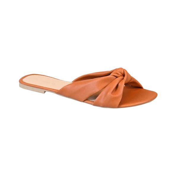 Sandalia-Rasteira-com-Tiras-em-Laco-Comfort-Tamanho--33---Cor--RUST-0