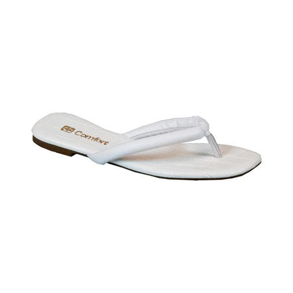 Sandalia-Rasteira-Crocodiles-Comfort-Branca-Tamanho--34---Cor--BRANCO-0