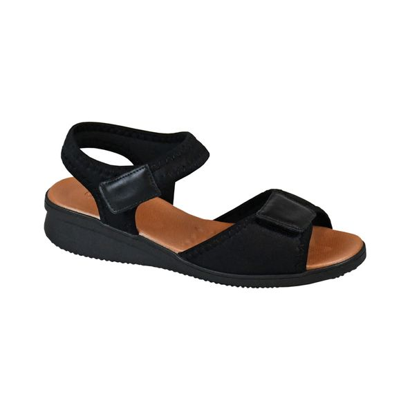Sandalia-com-Tiras-Comfort-Tamanho--34---Cor--PRETO-0
