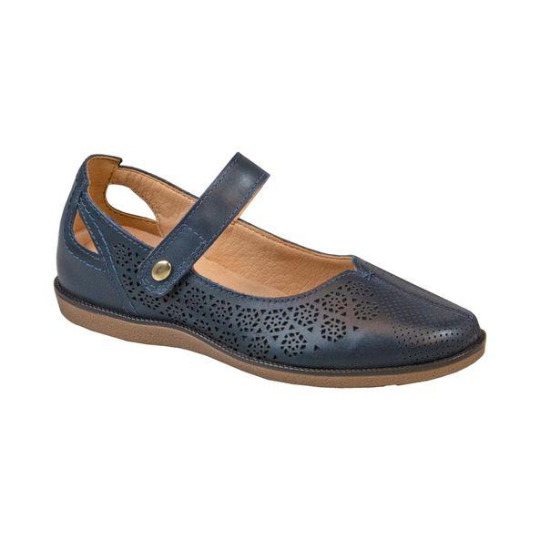 Sapato-em-Couro-Texturizado-Comfort-Azul-Marinho-Tamanho--38---Cor--MARINHO-0