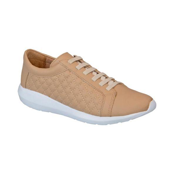 Tenis-Em-Couro-Macio-E-Fashion-Comfort-Marfim-402-Tamanho--34---Cor--MARFIM-0