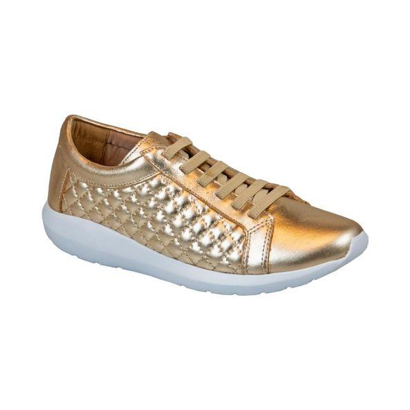 Tenis-Em-Couro-Macio-E-Fashion-Comfort-Dourado-402-Tamanho--34---Cor--OURO-0