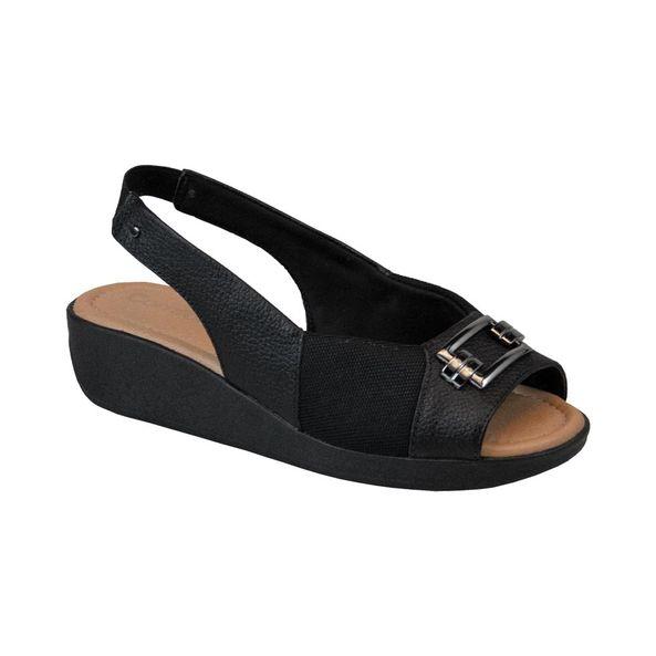 Sandalia-Peep-Toe-com-Fivela-Comfort-Preta-104-Tamanho--39---Cor--PRETO-0