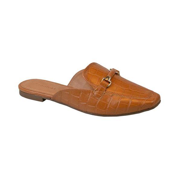 Sapato-Mule-Com-Textura-E-Fivela-Comfort-Caramelo-Tamanho--33---Cor--CARAMELO-0