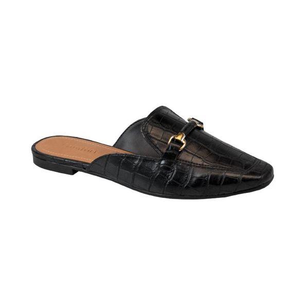 Sapato-Mule-Com-Textura-E-Fivela-Comfort-Preto-Tamanho--33---Cor--PRETO-0