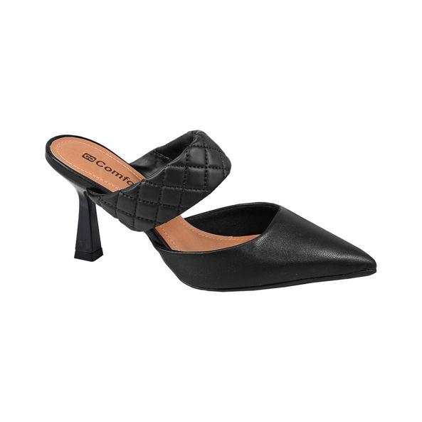 Sapato-Mule-com-Detalhe-Trancado-Comfort-Preto-Tamanho--33---Cor--PRETO-0