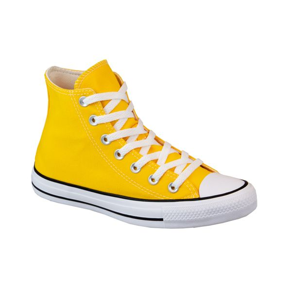 Tenis-All-Star-Converse-Cano-Medio-Amarelo-Tamanho--33---Cor--AMARELO-0