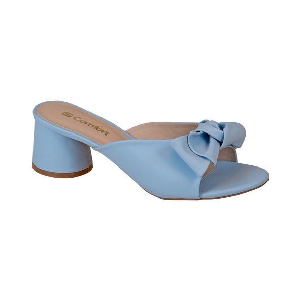 Tamanco-com-Lacinho-e-Salto-Arredondado-Comfort-Azul-Ceu-Tamanho--35---Cor--CEU-0