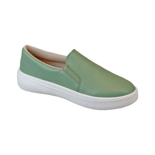 Tenis-Slip-On-Comfort-Verde-Tamanho--34---Cor--MENTA-0