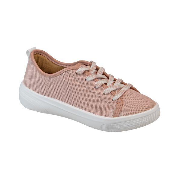 Tenis-Casual-em-Tecido-Comfort-Rosa-Tamanho--34---Cor--ROSA-0