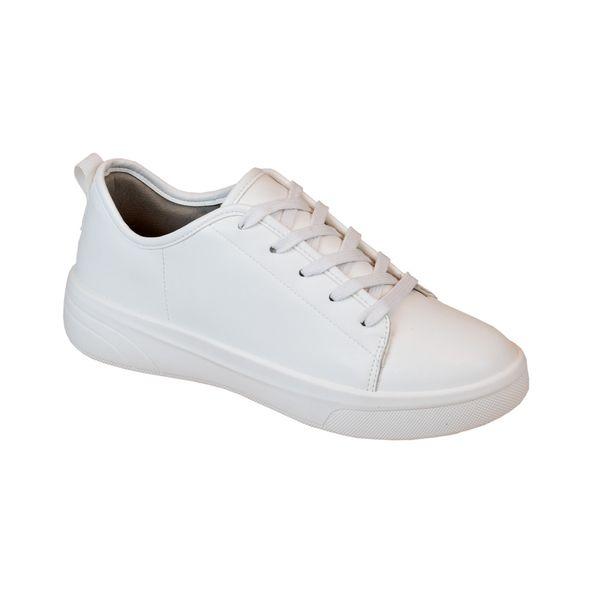 Tenis-com-Cadarco-Comfort-Branco-Tamanho--34---Cor--BRANCO-TOFU-0