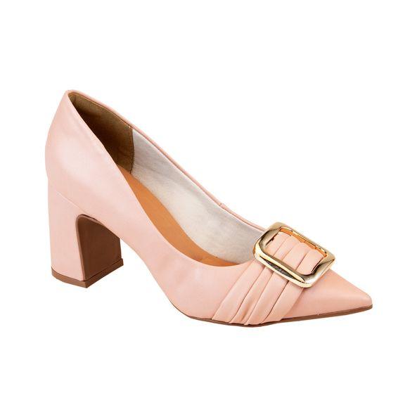 Sapato-com-Fivela-Frontal-Comfort-Rosa-Tamanho--33---Cor--ROSA-BALLET-0