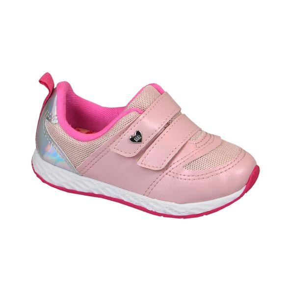 Tenis-Infantil-Molekinha-Duplo-Fecho-com-Velcro-Rosa-Tamanho--20---Cor--ROSA-0