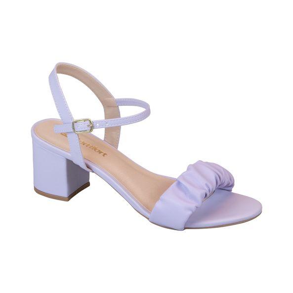 Sandalia-Salto-Bloco-e-Tira-Estofada-Comfort-Lavanda-Tamanho--34---Cor--ALFAZEMA-0