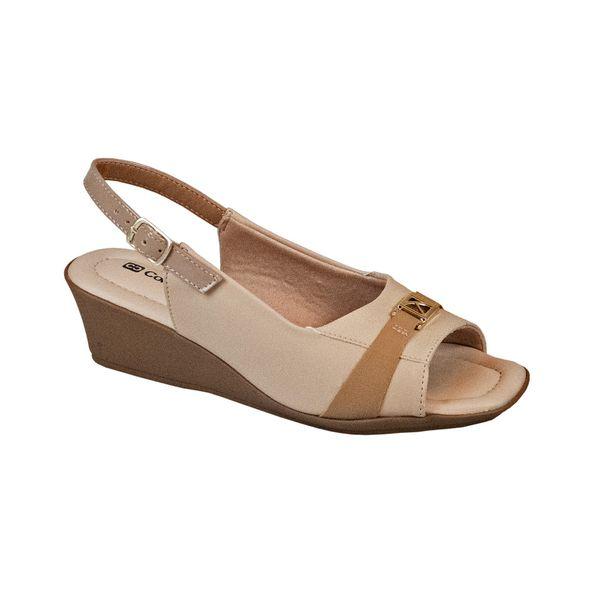 Sandalia-Anabela-Comfort-Marfim-Areia-Tamanho--34---Cor--MARFIM-0