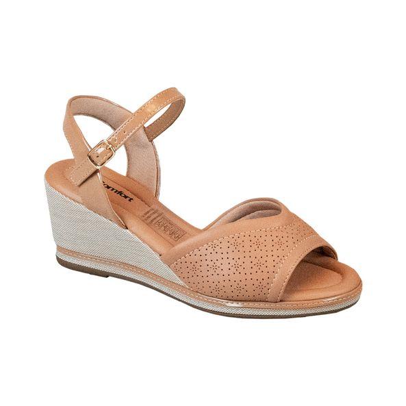 Sandalia-Anabela-Comfort-Tamanho--35---Cor--CAPUCCINO-0